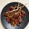 Хит Новогоднего стола в ресторане  Cinecitta - баранина в гранатовом соусе